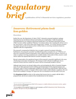 Insurers: Retirement plans look less golden
