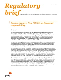 Broker-dealers: New FOCUS on financial responsibility