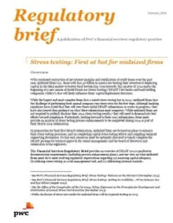 Stress testing: First at bat for midsized firms