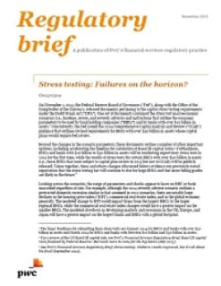 Stress testing: Failures on the horizon?