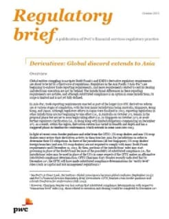 Derivatives: Global discord extends to Asia