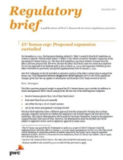 EU bonus cap: Proposed expansion curtailed