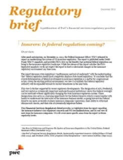 Insurers: Is federal regulation coming?