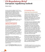 European regulatory outlook: PwC