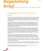 Foreign banks: Hope is not a strategy – Time to act: PwC