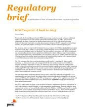 G-SIB capital: A look to 2015