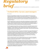 Nonbank SIFIs: Up next, asset managers