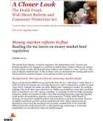 Money market reform in flux: Reading the tea leaves on money market fund regulation