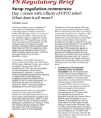 Swap regulation commences - Day 1 closes with a flurry of CFTC relief: What does it all mean?