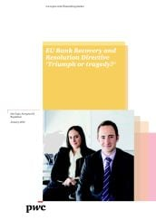 The EU's Bank Recovery & Resolution Directive