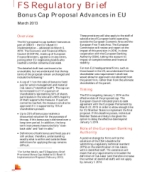 Bonus cap proposal advances in the EU