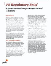 Expense Practices for Private Fund Advisers
