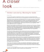 Volcker rule clarity: Waiting for Godot