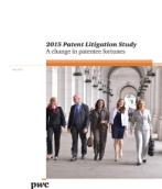 2015 Patent Litigation Study: A change in patentee fortunes