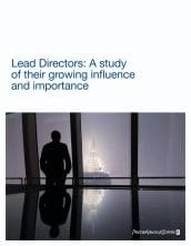 Lead Directors: A study of their growing influence and importance