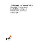 Tightening the Budget Belt: Managing Contracts and Profitability in Light of Government Spending Reductions