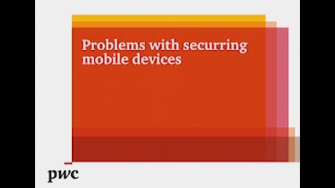Problems with securing mobile devices