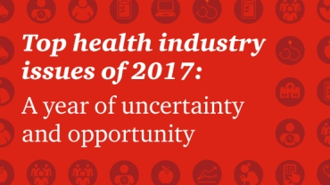 Top health industry trends and issues 2017: PwC