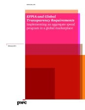 EFPIA and Global Transparency Requirements