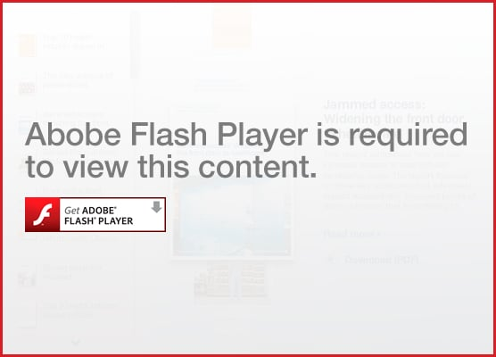 Adobe Flash Player is required to view this content.