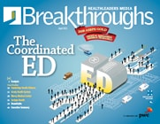 Breakthroughs: The coordinated ED
