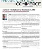 Pharmaceutical Commerce:  Top health industry issues for life sciences in 2014