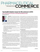 Top health industry issues for life sciences in 2014