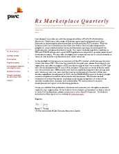 Rx Marketplace Quarterly Newsletter