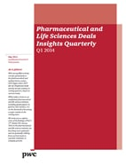 Pharmaceutical and Life Sciences Deals Insights Quarterly Q2 2014
