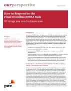 How to respond to the Final Omnibus HIPAA Rule