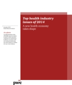 Top health industry issues of 2014
