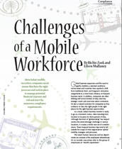 Challenges of a Mobile Workforce