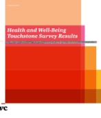 PwC's 2012 Health and well-being touchstone survey executive summary