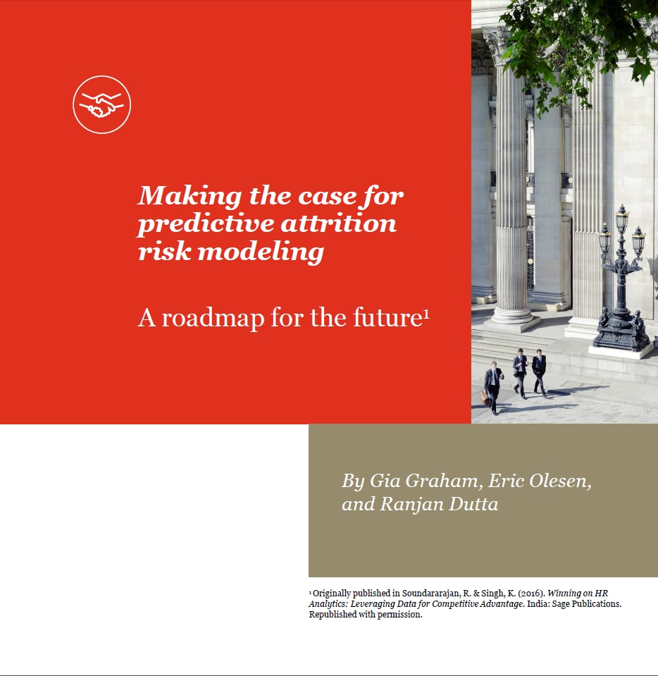 Making the case for predictive attrition risk modeling