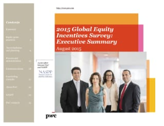2015 Global Equity Incentives Survey