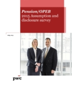 Pension/OPEB 2015 Assumption and disclosure survey