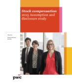 Stock Compensation 2015 Assumption and disclosure survey