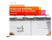 PwC's 2014 Health and Well-being Touchstone Survey results