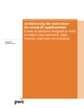 Architecting the data layer for analytic applications