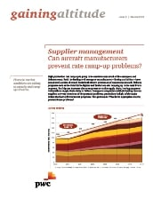 Gaining altitude with PwC, Issue 2: Supplier management: Can aircraft manufacturers prevent rate ramp-up problems?