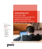 Assessing tax: 2014 tax rate benchmarking study for industrial products and automotive sectors