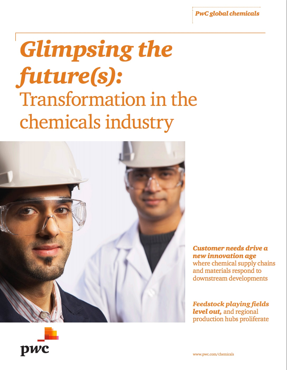 Glimpsing the future(s): Transformation in the chemicals industry