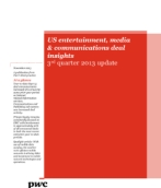 US Entertainment Media and Communications deal insights: Q3 2013 update