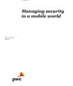 Managing security in a mobile workplace
