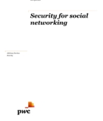 Security for social networking