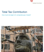 Total tax contribution: How much do large US companies pay in taxes?