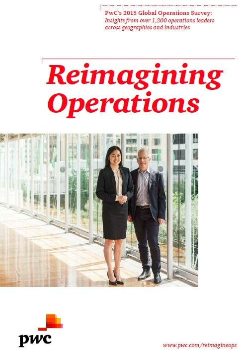 Leading companies are reimagining operations