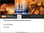 The Future of Global Business Services - Survey Findings: PwC