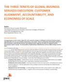 The Three Tenets of Global Business Services Execution