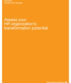 Assess your HR organization's transformation potential